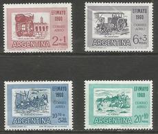 Argentina - 1960 Philatelic Exhibition MNH *   Sc CB19-22 - Argentina