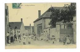 CPA 89 CHICHERY LA RUE DU MILIEU - Andere Gemeenten