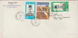 Djibouti Lettre De 1987 Pour La France - Djibouti (1977-...)