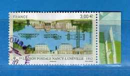 Francia ° -2012 -  NANCY LUNEVILLE YT PA 75 OBLITERE - De Petit Minifeuille De 10.   Vedi Descrizione. - Poste Aérienne