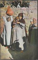 Femme Arabe Avec Ses Enfants, Le Caire, C.1905-10 - Trenkler & Co CPA - Cairo