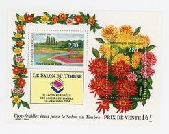Le Salon Du Timbre 1994 Au Parc Floral De Vincennes - 1994 - Y&T BF 16 - Blocs & Feuillets