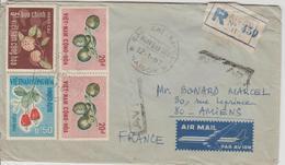 Vietnam Lettre Recommandée De 1967 Pour La France - Viêt-Nam