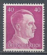 Germany 1941. Scott #520 (M) Adolf Hitler * - Neufs