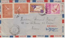 Vietnam Lettre De 1966 Pour La France - Viêt-Nam