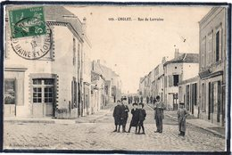 CHOLET - RUE DE LORRAINE - ANIMATION - Cholet