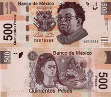 MEXICO        500 Pesos     P-126       16.1.2017       UNC  [sign. Del Cueto] - Messico