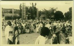 AFRICA - ETHIOPIA / ETIOPIA - AXUM MARKET - RPPC 1935 (BG573) - Etiopía