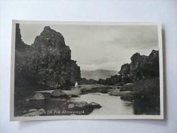 FRA ALMANNAGJA - (Rare !) - Islande