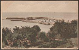 The Cobb From Langmoor Gardens, Lyme Regis, Dorset, C.1950 - Dunster's Library Postcard - England