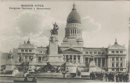 Argentine   Buenos Aires   Congreso Nacional Y Monumento - Argentina