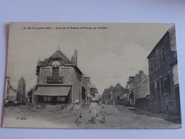 Batz -rue De La Mairie Et Route Du Croisic - Batz-sur-Mer (Bourg De B.)