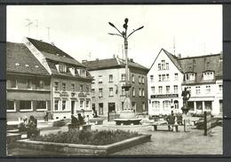 Deutschland DDR 1981 PERLEBERG Grosser Markt , Gesendet 1990 - Perleberg