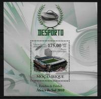 MOZAMBIQUE  BF 282  * *  ( Cote 16e ) Cup 2010 Football Soccer Fussball Stade - Coupe Du Monde