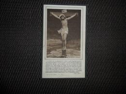 Doodsprentje ( E 583 ) De Vis / De Witte  -  Hekelgem    -  1924 - Décès