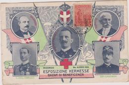 Argentine   Buenos Aires  1915 Esposizione Kermesse Bazar Di Beneficenza    Vittorio Emanuelle 3 - Argentina