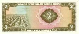 NICARAGUA P. 121a 2 C 1972 UNC - Nicaragua