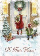 Prachtige Wenskaart (Kerst)  In Nieuwstaat Geleverd Met Bijhorende Enveloppe - Cartes Postales