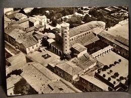 (FG.I48) RAVENNA - SANT'APOLLINARE NUOVO E PALAZZO DI TEODORICO - VEDUTA AEREA (viaggiata 1956) - Ravenna