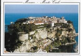MONACO - MONTECARLO - VEDUTA AEREA - VIAGGIATA - Monaco