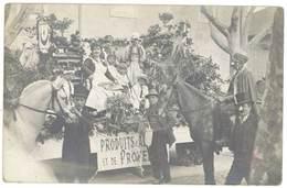 Cpa Carte-photo Corso / Carnaval - Produits D'Algérie Et De Provence   ( CPH ) - Carnaval