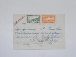 Carte Dakar Par Avion Censure Militaire 1944 Pour Brive - Sénégal (1887-1944)