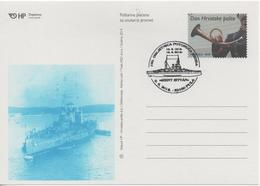 Croatia, Ship, 100th Anniversary Of The Sinking Of The Austro-Hungarian Ship Szent Istvan - Croatia