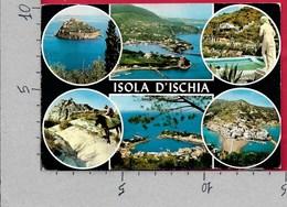 CARTOLINA VG ITALIA - ISOLA D'ISCHIA - Vedutine Multivue - 10 X 15 - ANN. 1971 - Napoli (Naples)