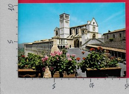 CARTOLINA VG ITALIA - ASSISI - Basilica Di San Francesco - 10 X 15 - ANN. 1990 - Italy
