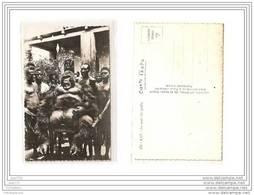 4979 AK /PC/  CARTE PHOTO/897/AFRIQUE /A.E.F./LA MORT DU GORILLE - Cartoline