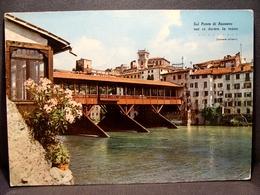 (FG.I49) BASSANO DEL GRAPPA - IL PONTE DEGLI ALPINI (VICENZA) Viaggiata 1963 - Vicenza