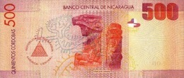 NICARAGUA P. 206 500 C 2007 UNC - Nicaragua