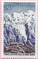 France:n° 1454 ** Inauguration Du Tunnel Routier Sous Le Mont-Blanc - Nuevos
