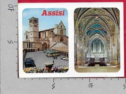 CARTOLINA VG ITALIA - ASSISI - Basilica Di San Francesco - Interno Chiesa Superiore - 10 X 15 - ANN. 1994 SELLANO - Italy