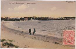Uruguay  Montevideo  Playa Pocitos - Uruguay