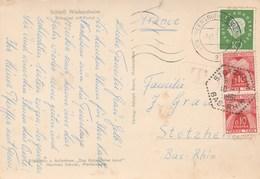 Lettre Allemande Taxée Pour Stotzheim - 1961-....