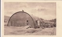 AK - I. WK - NISSENHÜTTE -Soldaten Drängen In Die Mobile Soldatenunterkunft - Guerra 1914-18