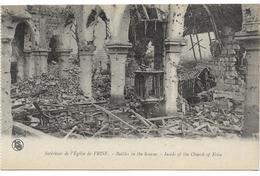 GUERRE 14 18 SOMME FRISE INTERIEUR DE L'EGLISE - Guerre 1914-18