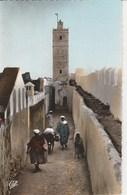 AGADIR Vue Sur Le Minaret Et Les Remparts De La Casbah 1016J - Agadir