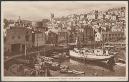 Brixham From The East, Devon, 1947 - Tuck's Postcard - England