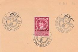 Doc : Deutschland Wird Siegen 20-04-1944 Wien - Briefe U. Dokumente