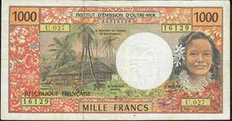 FRENCH PACIFIC TERRITORIES P2 1000 FRANCS 1996 # U.027.  VF NO P.h. - Territoires Français Du Pacifique (1992-...)