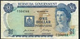 BERMUDA P23 1 DOLLAR 6.2.1970. # A/1    VF NO P.h. - Bermudes