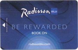 STATI UNITI KEY HOTEL Radisson Blu - Be Rewarded. - Hotel Keycards