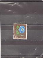 SUISSE 1958 N° 619 OBLITERE - Usados