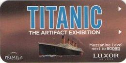 STATI UNITI KEY HOTEL Titanic - Luxor Las Vegas - Hotel Keycards