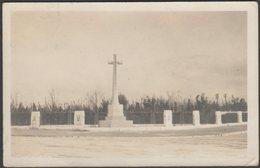 The Gibraltar Cross Of Sacrifice, 1924 - RP Postcard - Gibraltar