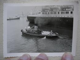 Départ Sur Le Paquebot VILLE D'ALGER à MARSEILLE Le 19 Avril 1961 - Bateaux
