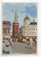Danemark : Aarhus - Clemensbro Og Domkirken (cp Vierge) Tramway - Danemark