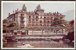 Suisse CP L.M.Kohler-Hôtel Du Lac - VEVEY - Hotels & Restaurants